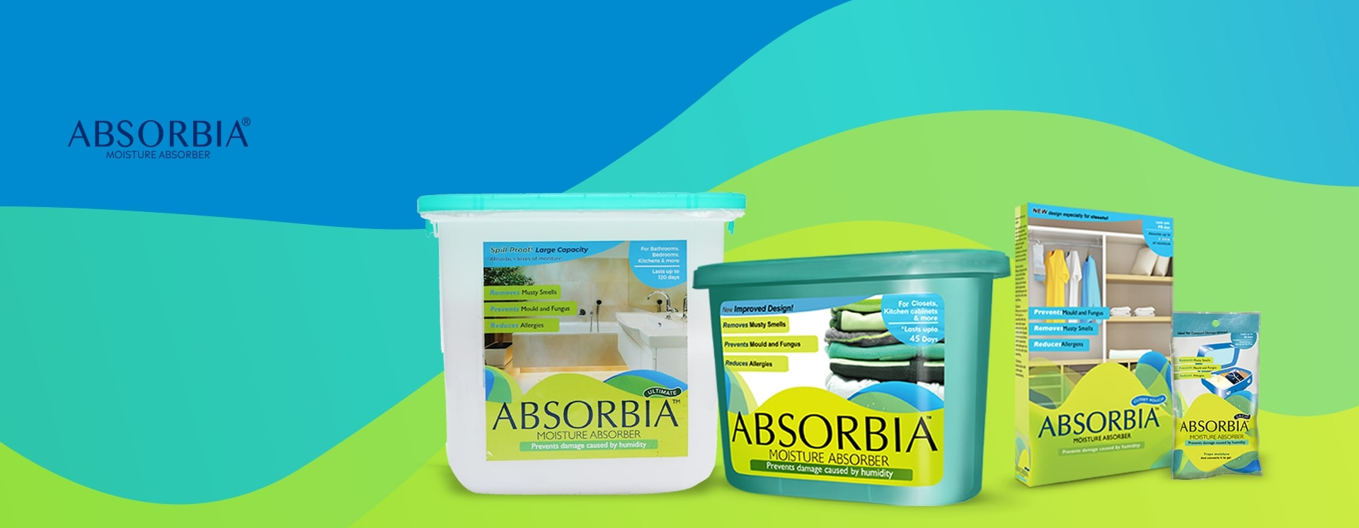 Absorbia products