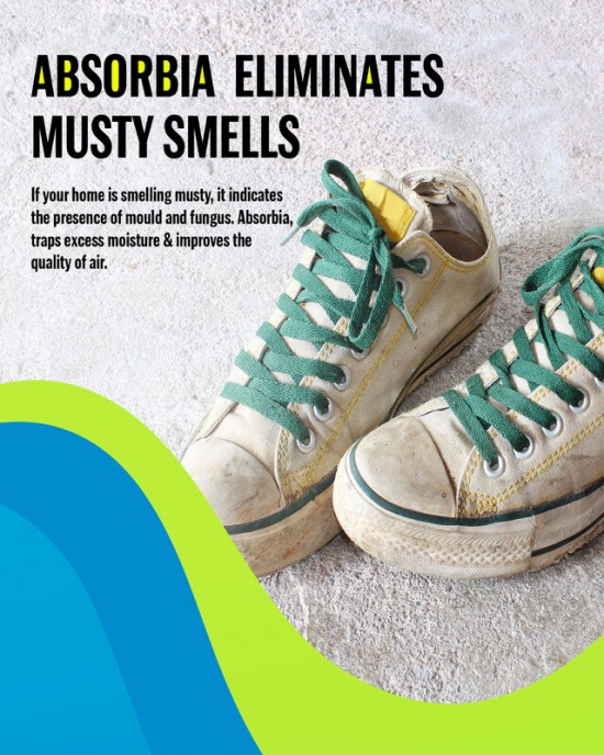 Odour Buster with Activated Charcoal